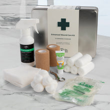 Load image into Gallery viewer, At-Home Wound Care Kit - for Ulcers, Burns, Post-Surgery, and other Large Wounds