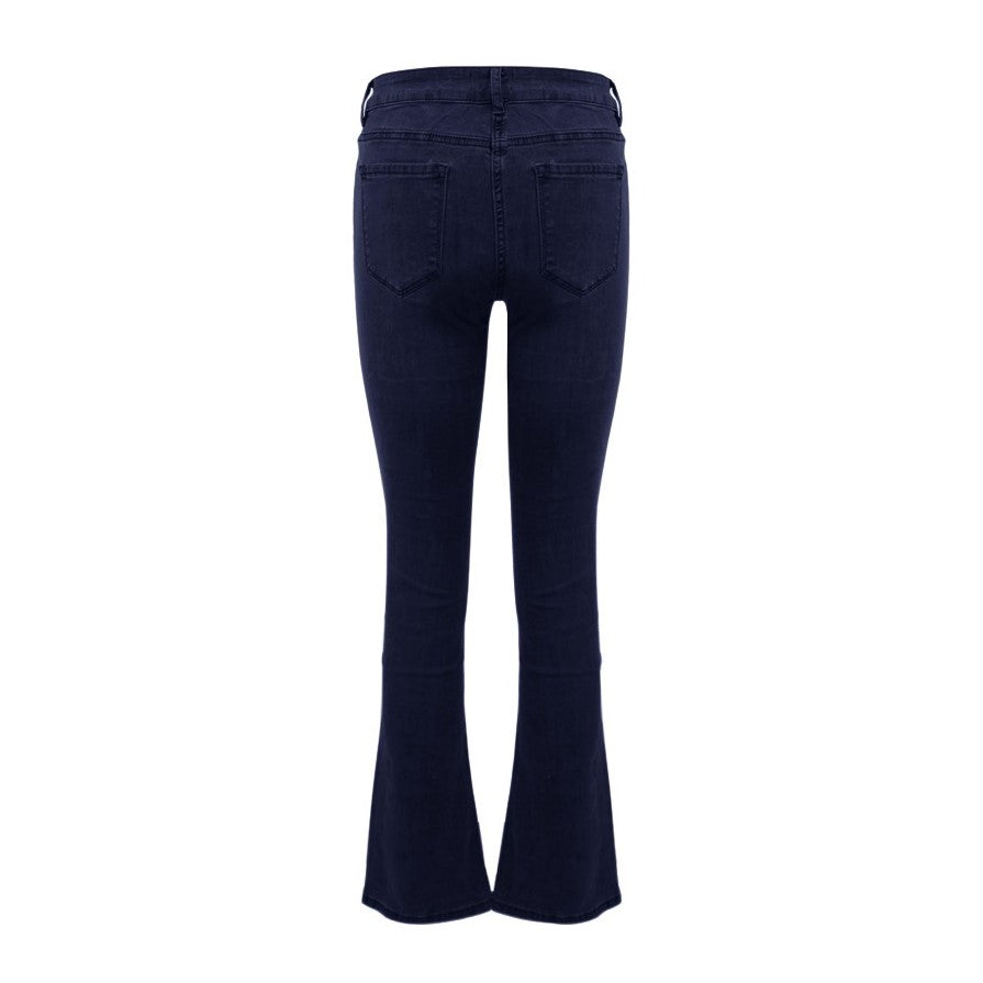 Flair jeans donkerblauw