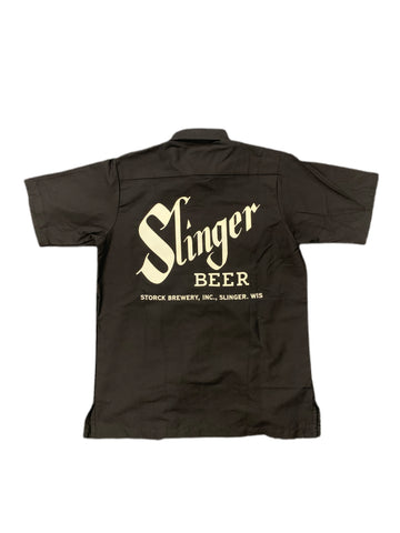 Beer Delivery Shirts - Storck Slinger Beer Work Shirts