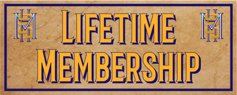 Lifetime Membership - Miscellaneous