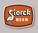 Storck Brewing Beer Decal