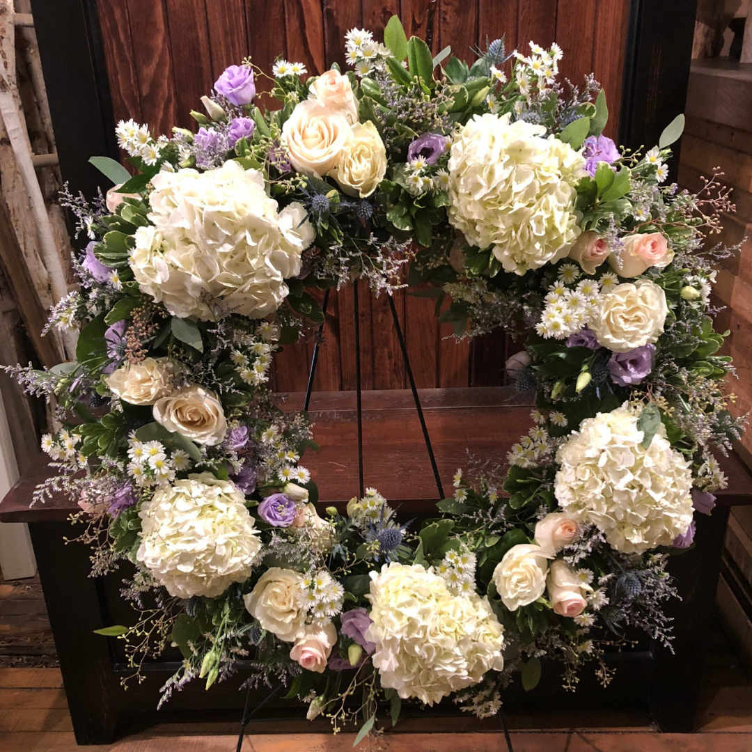 Garden Remembrance Wreath