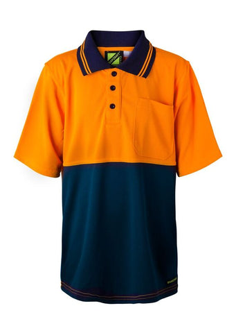 Kids Workcraft HiVis Polo