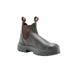 Men's Steel Blue Hobart Scuff Safety Boots