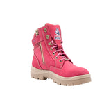 Ladies Steel Blue Southern Cross Safety Boots