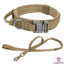 Load image into Gallery viewer, 4LEGGEDPETS Collar / Leash Set Beige Set / XL
