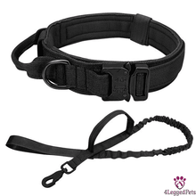 Load image into Gallery viewer, 4LEGGEDPETS Collar / Leash Set Black Set / XL
