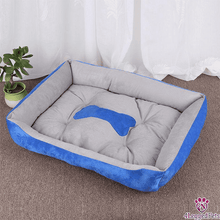 Load image into Gallery viewer, 4LEGGEDPETS Cozy Bed Blue / L
