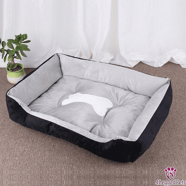 4LEGGEDPETS Cozy Bed Black / XL