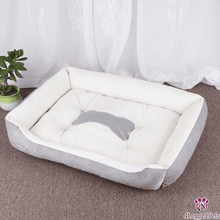 Load image into Gallery viewer, 4LEGGEDPETS Cozy Bed Gray / S