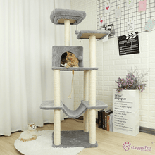 Load image into Gallery viewer, 4LEGGEDPETS Tree Tower 3 Tree Tower 3