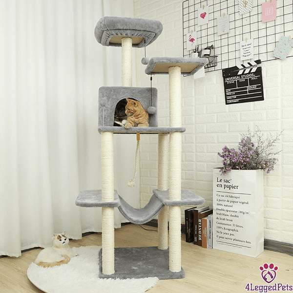 4LEGGEDPETS Tree Tower 3