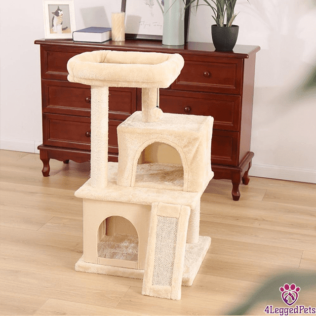 4LEGGEDPETS Tree Tower 2 Desert