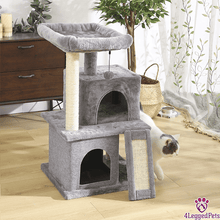 Load image into Gallery viewer, 4LEGGEDPETS Tree Tower 2 Gray