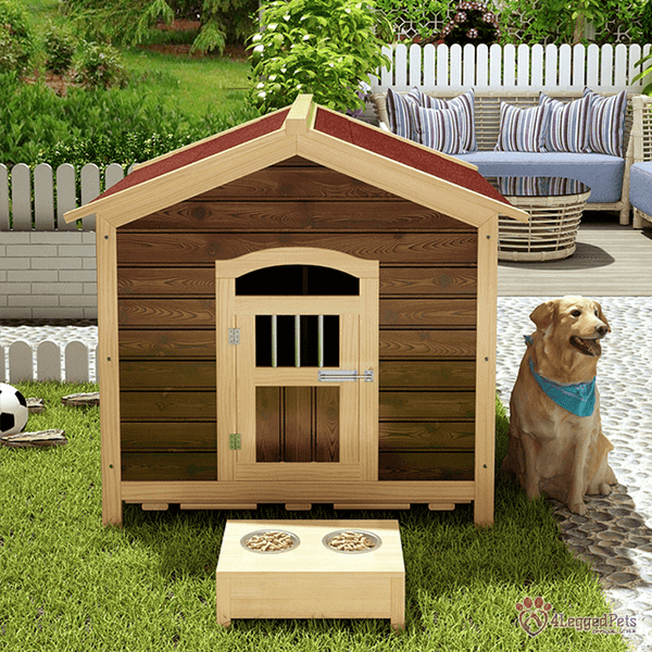 4LEGGEDPETS Wooden House