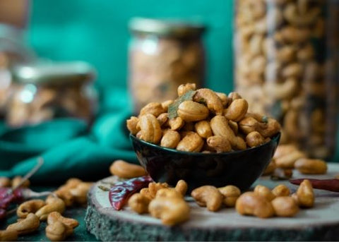 Devilled Cashews | The Nuttery