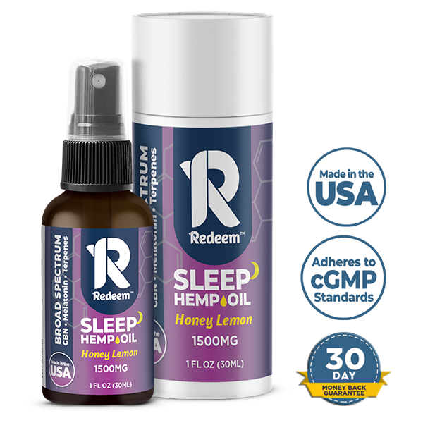 1500mg Broad-Spectrum Hemp-Extract Spray Sleep Formula