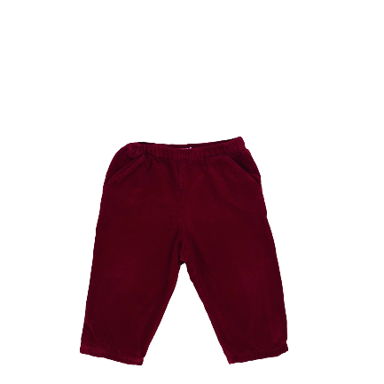 Dark Red PANTALON - BOUT CHOU - 12 MOIS