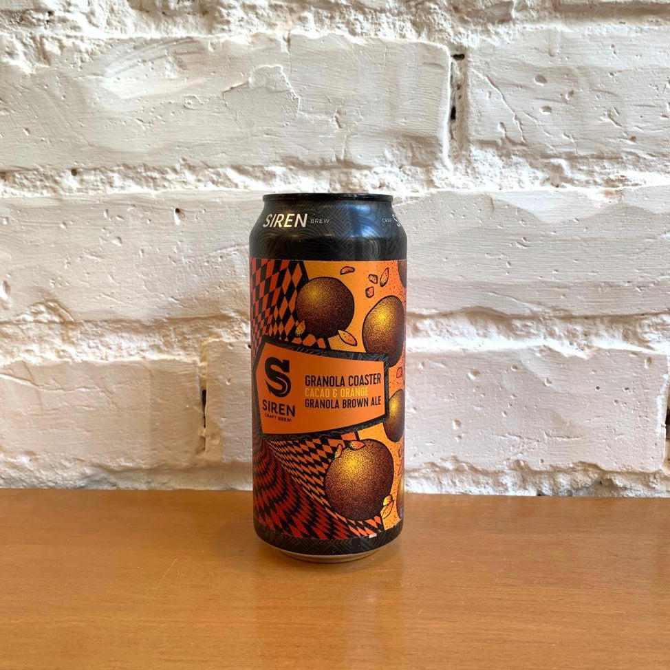 Siren Granola Coaster Cacao & Orange Granola Brown Ale 6.5%