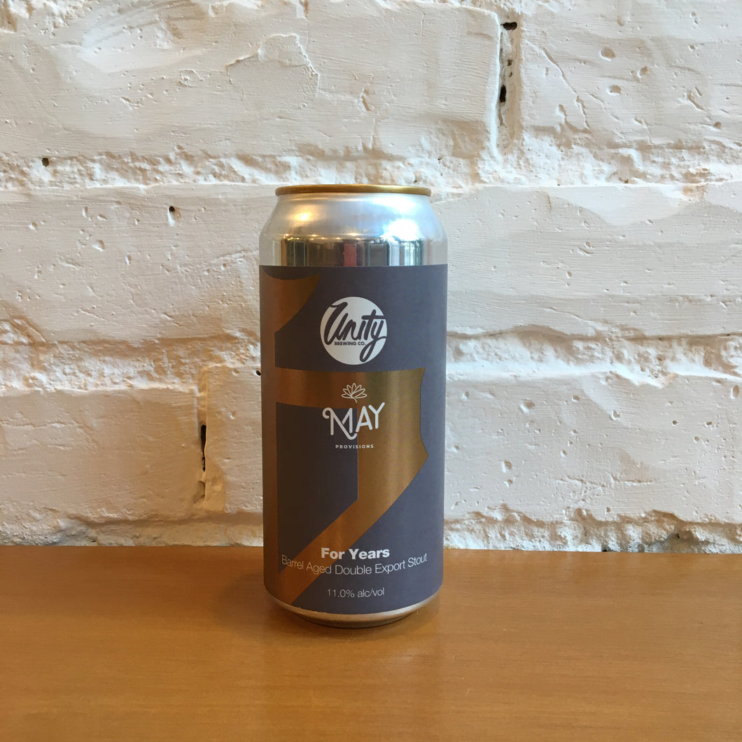 Unity X May Provisions For Years BA Export Stout 11.0%