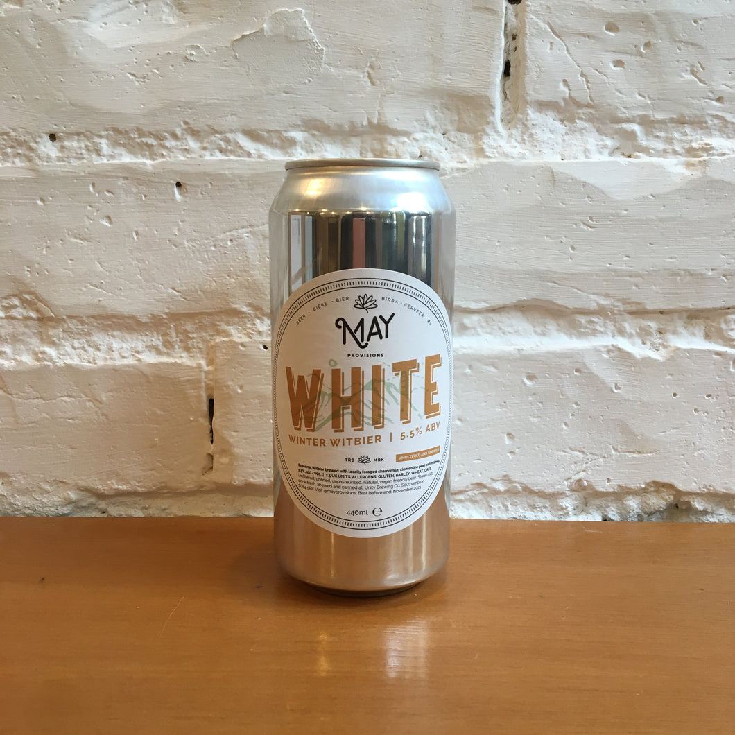 May Provisions White Winter Witbier 5.5%