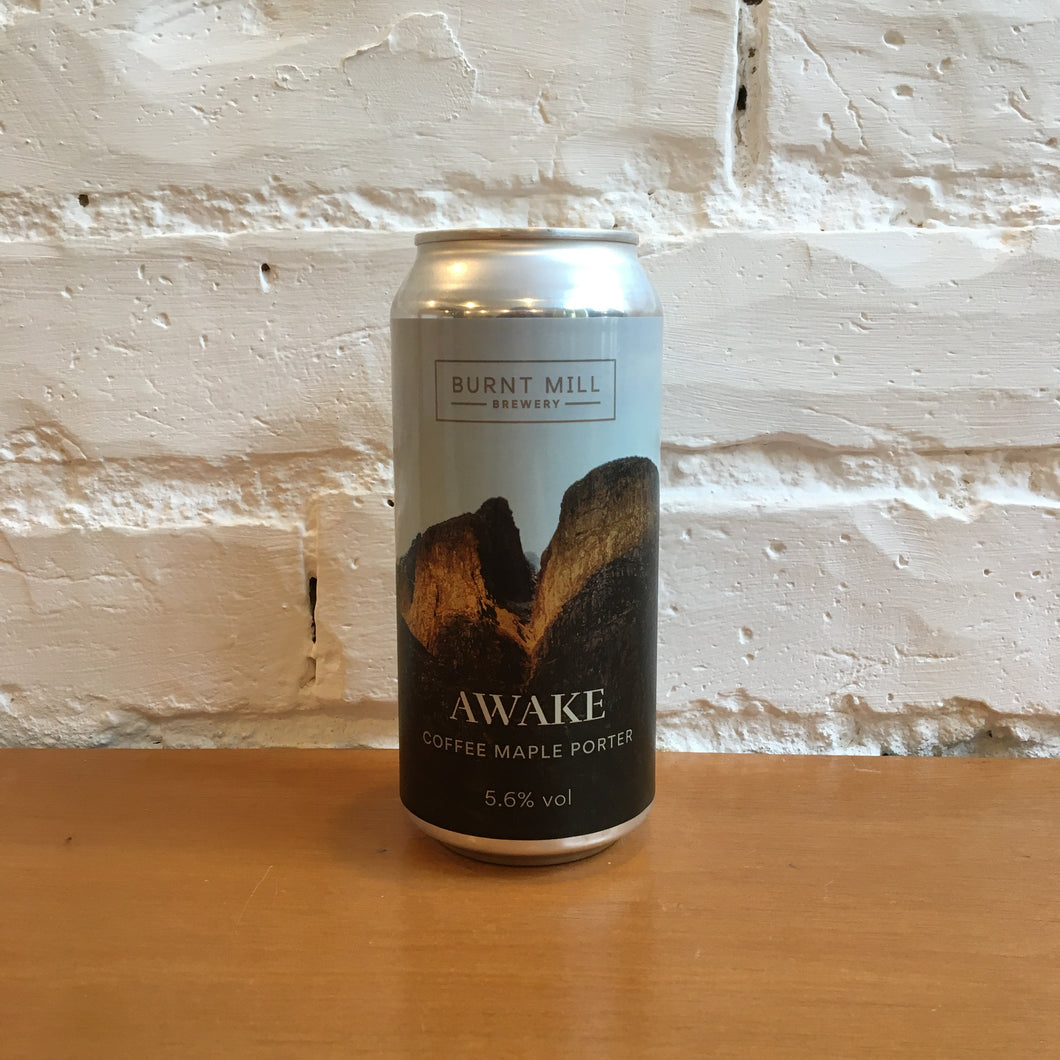 Burnt Mill Awake Coffee Porter With Maple Syrup 5.4%