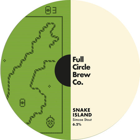 KEG Full Circle Brew Co Snake Island Simcoe Stout 6.2%
