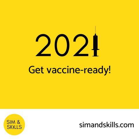 Get vaccine-ready with Sim & Skills IM injection models and simulators for COVID-19