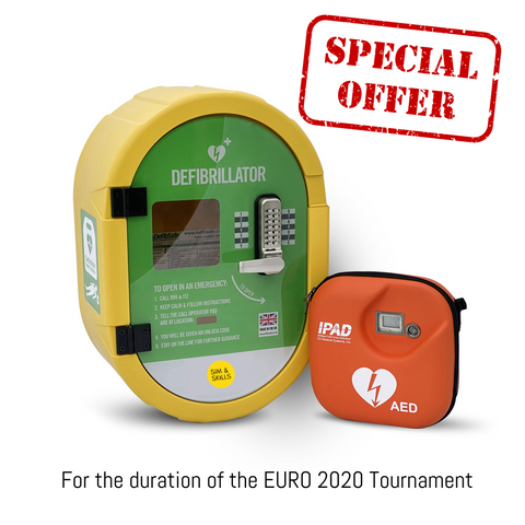 Euro 2020 Public Access AED Offer from Sim & Skills