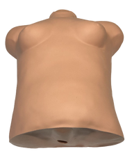 Simulaids Brad Adult CPR Manikin Female Chest Overlay