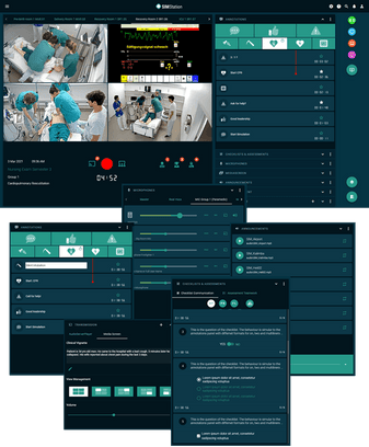 SIMStation - The most advanced audio/video debriefing system for healthcare simulation