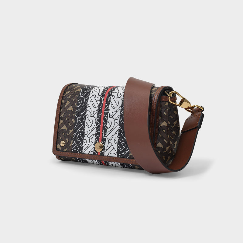 Hackberry Bag Accessory in Bridle Brown Cotton and Polyurethane