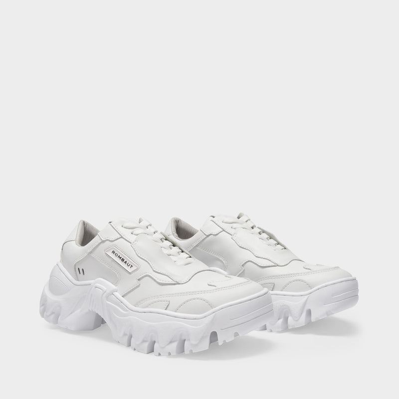 Boccaccio II Apple Sneakers in White Vegan Leather