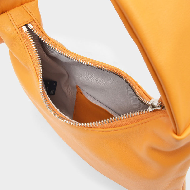 Lisa S Bag in Orange Leather