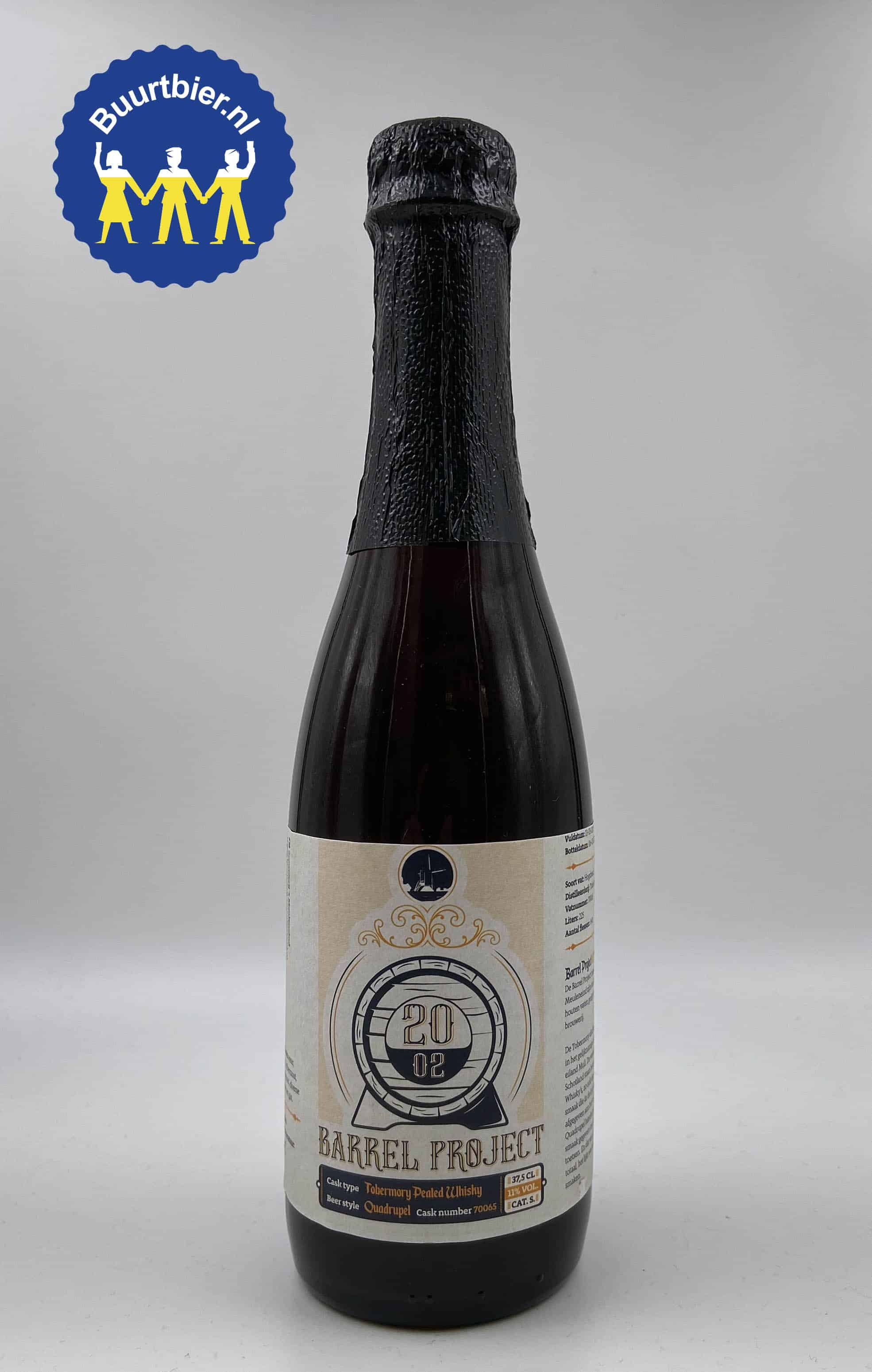 20.02 Barrel Project 37,5cl - Brouwerij 't Meuleneind