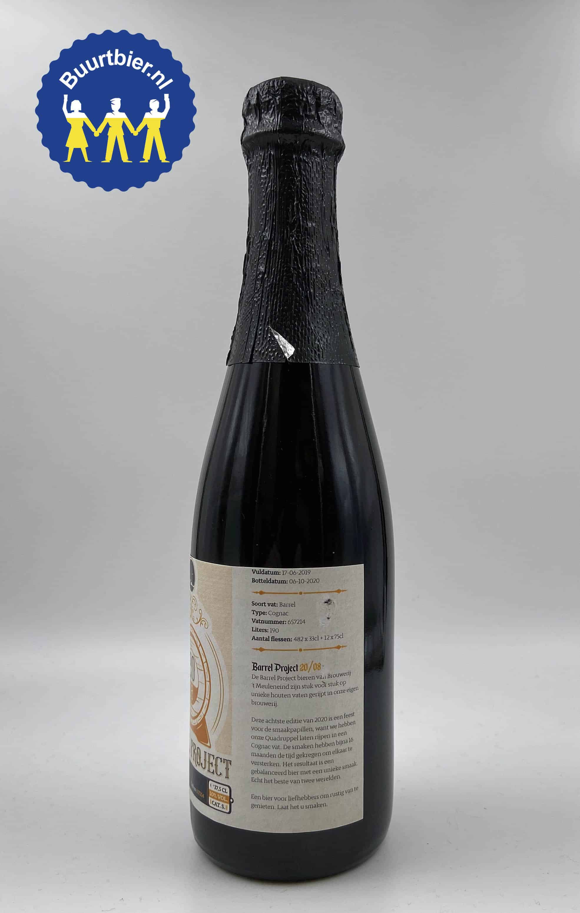 20.05 Barrel Project 37,5cl - Brouwerij 't Meuleneind