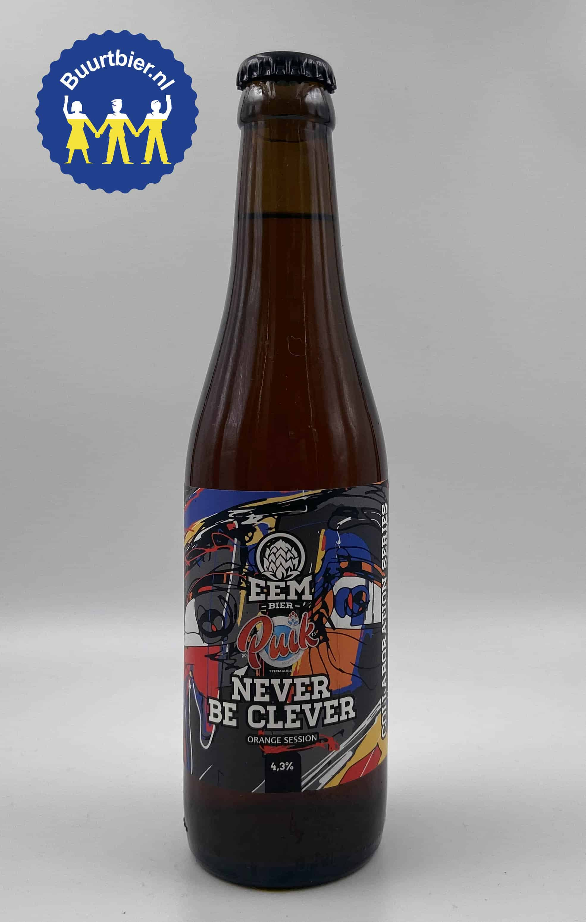 Never be Clever Session IPA 33cl - EemBier (incl. statiegeld)