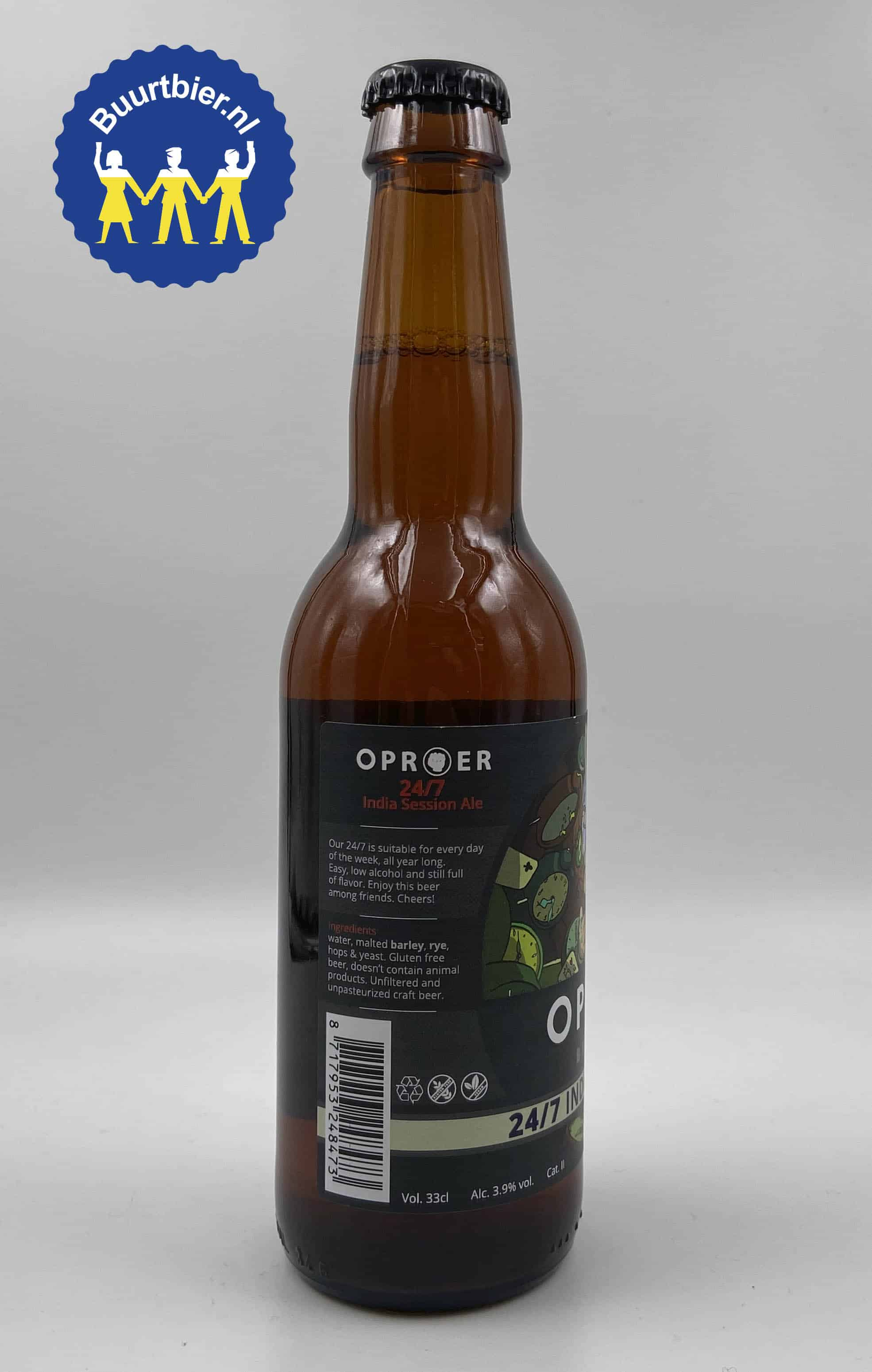 24/7 India Session Ale 33cl - Brouwerij Oproer