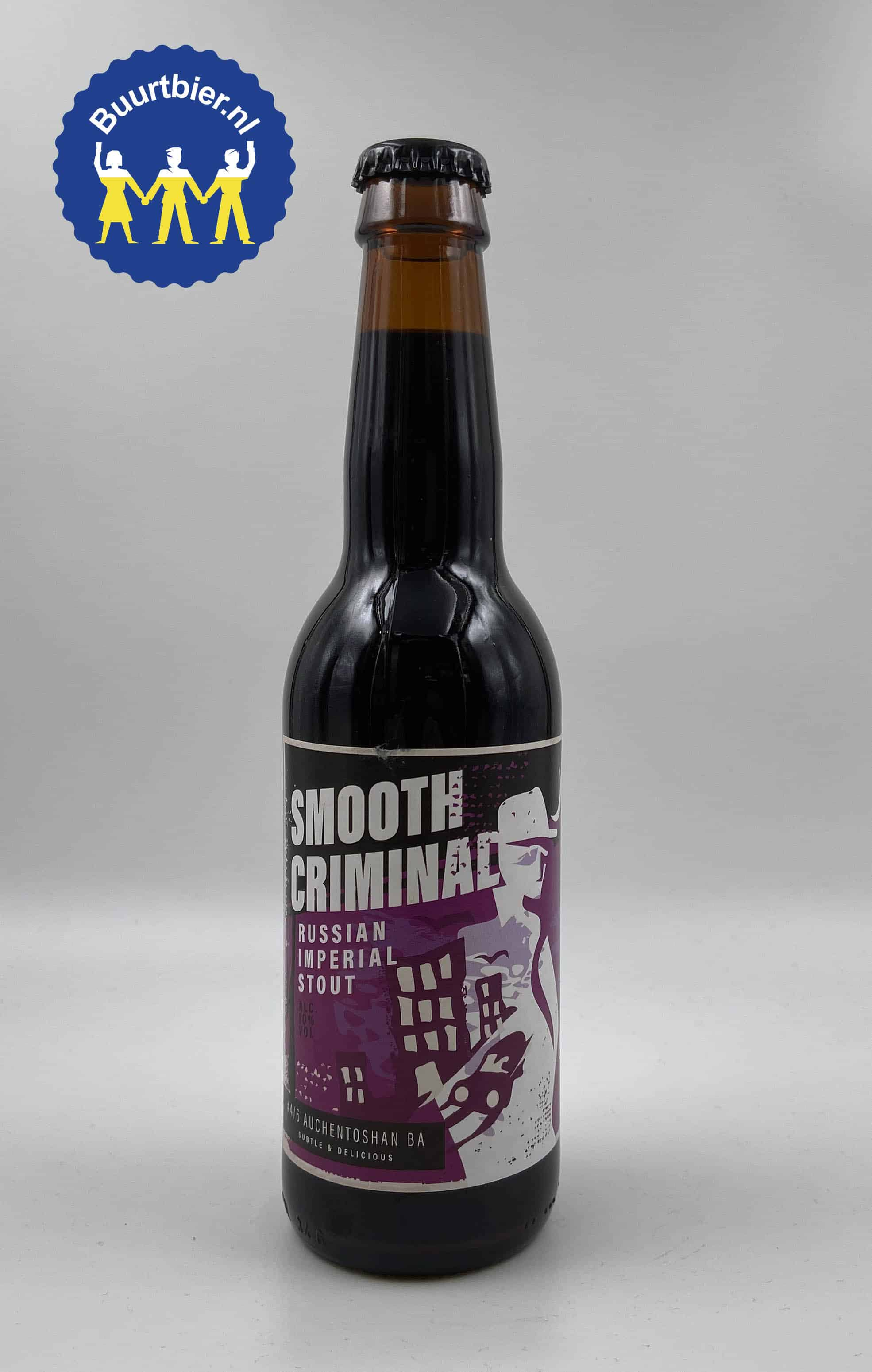 Smooth Criminal RIS Barrel Aged Auchentoshan 33cl - Brouwerij Hommeles