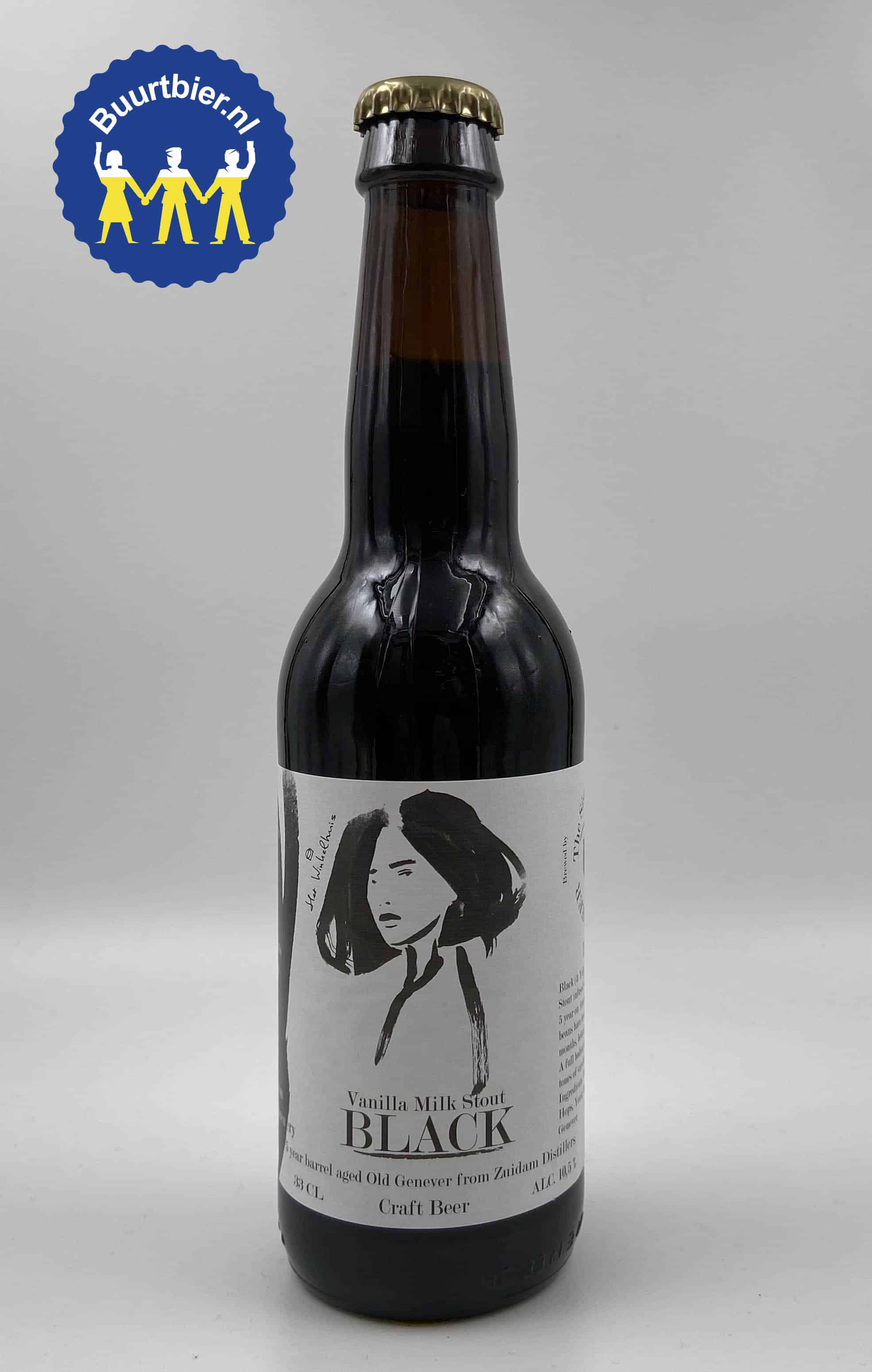 Vanilla Milk Stout Black 33cl - Sister's Brewery