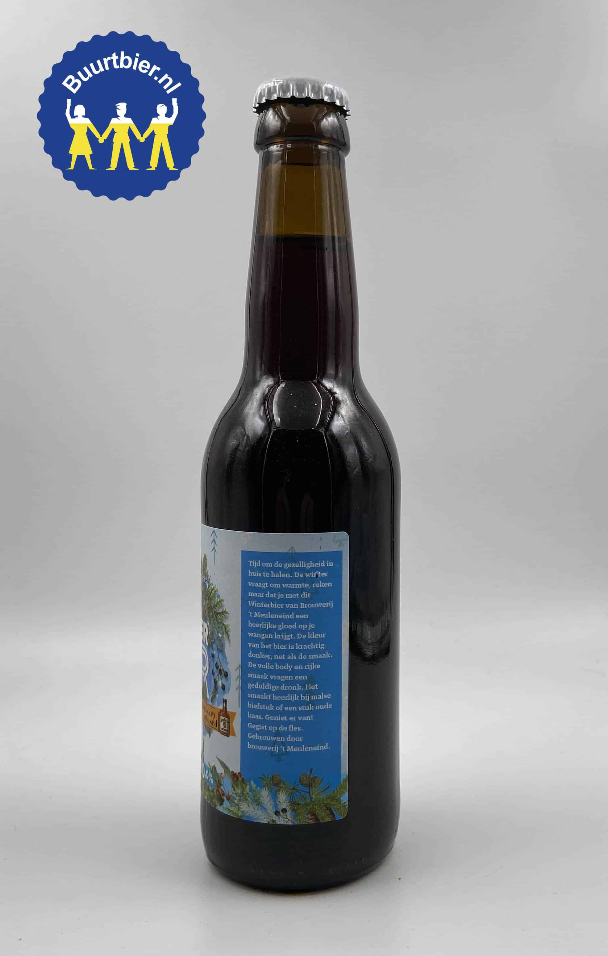 Winterbier Whiskey Infused 33cl - Brouwerij 't Meuleneind
