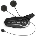 GDM DK-120 Motorcycle Helmet with Intercom Bluetooth Headset