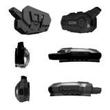 GDM HyperSonic Motorcycle Helmet Bluetooth Headset with Intercom