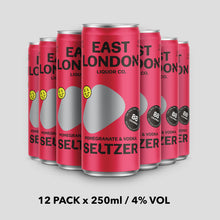 Load image into Gallery viewer, Pomegranate & Vodka Seltzer - 4% VOL x 12