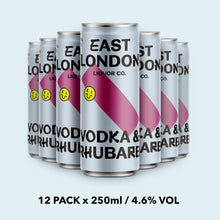 Load image into Gallery viewer, Vodka & Rhubarb - 4.6% VOL x 12