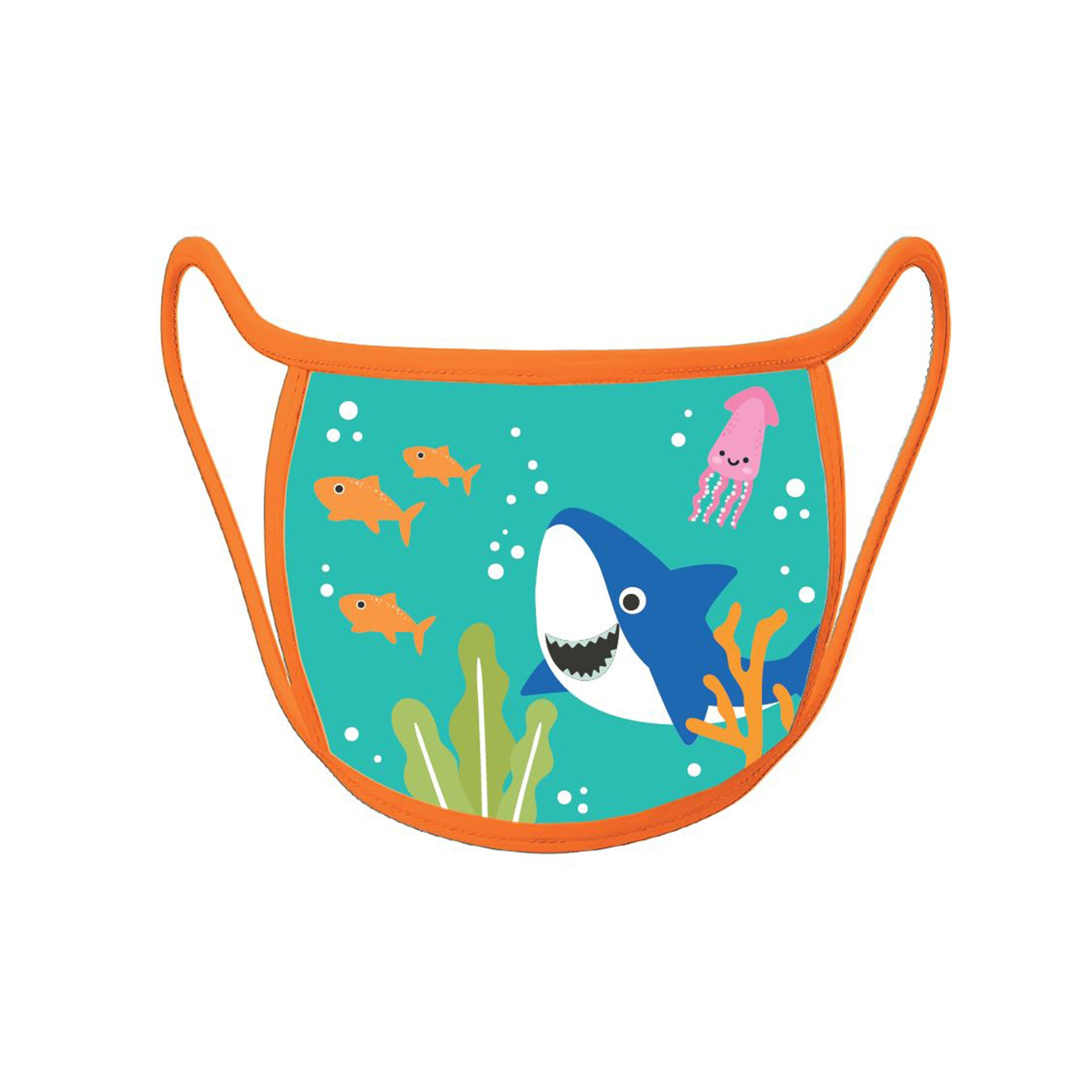 Re-useable Handmade Cloth Face Covering Cute Little Shark Design