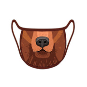 Re-useable Handmade Cloth Face Covering Bear Face Design