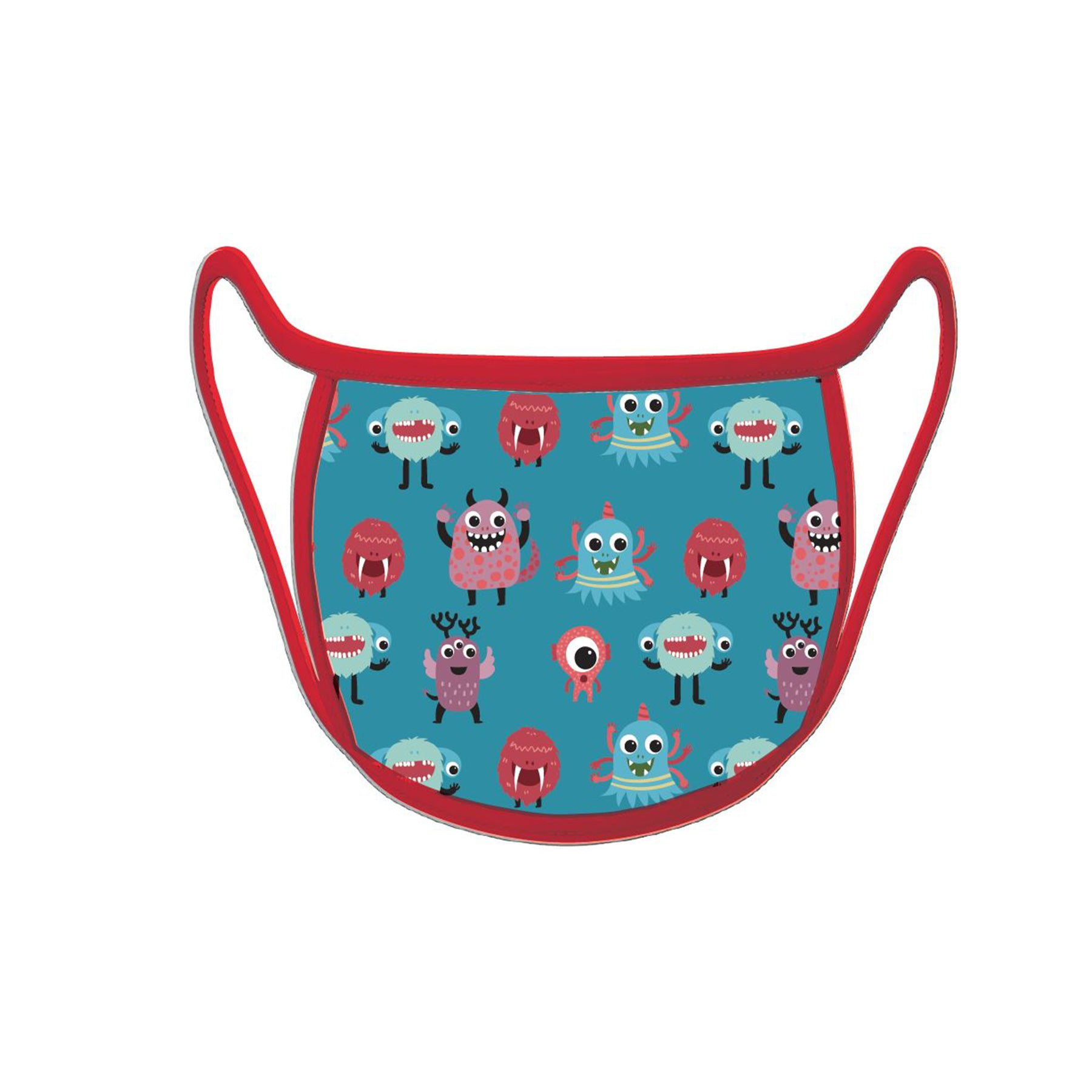 Re-useable Handmade Cloth Face Covering Little Monsters Design