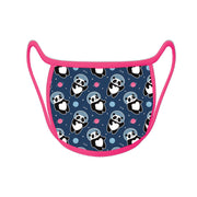 Re-useable Handmade Cloth Face Covering Space Panda Design