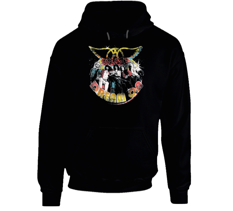 Aerosmith Dream On Portrait Hoodie
